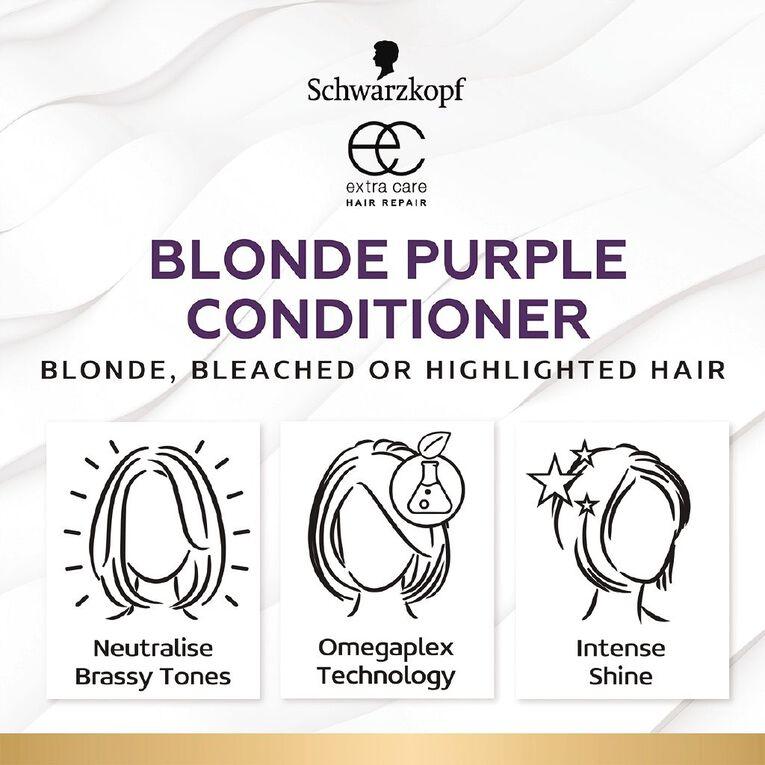 Schwarzkopf Extra Care Blonde Purple Conditioner 250ml, , hi-res