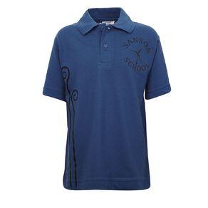 Schooltex Sanson School Short Sleeve Polo with Transfer