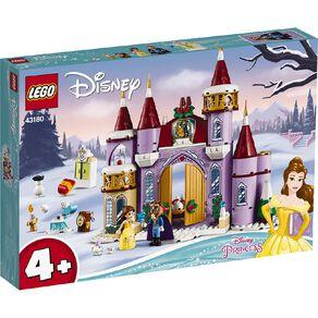 LEGO Disney Belles Castle Winter Celebration 43180
