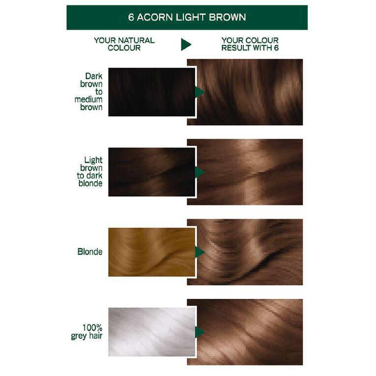 Garnier Nutrisse Permanent Creme Light Brown Acorn 6, , hi-res