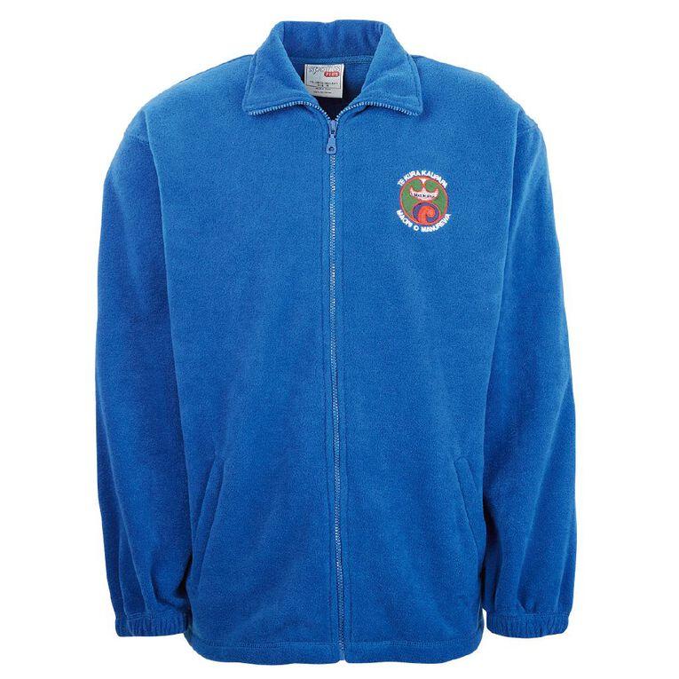 Schooltex TKKM o Manurewa  Polar Fleece Jacket with Embroidery, Royal, hi-res