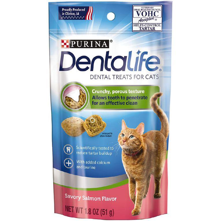 Purina Dentalife Cat Salmon 51g, , hi-res