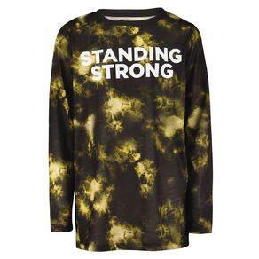 Young Original Long Sleeve Sublimation Print Tee