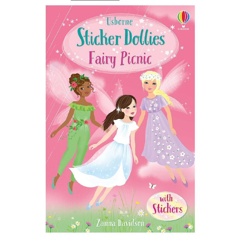 Sticker Dolly Stories #2 Fairy Picnic by Zanna Davidson N/A, , hi-res