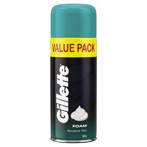 Gillette Shaving Foam Sensitive Skin 333g