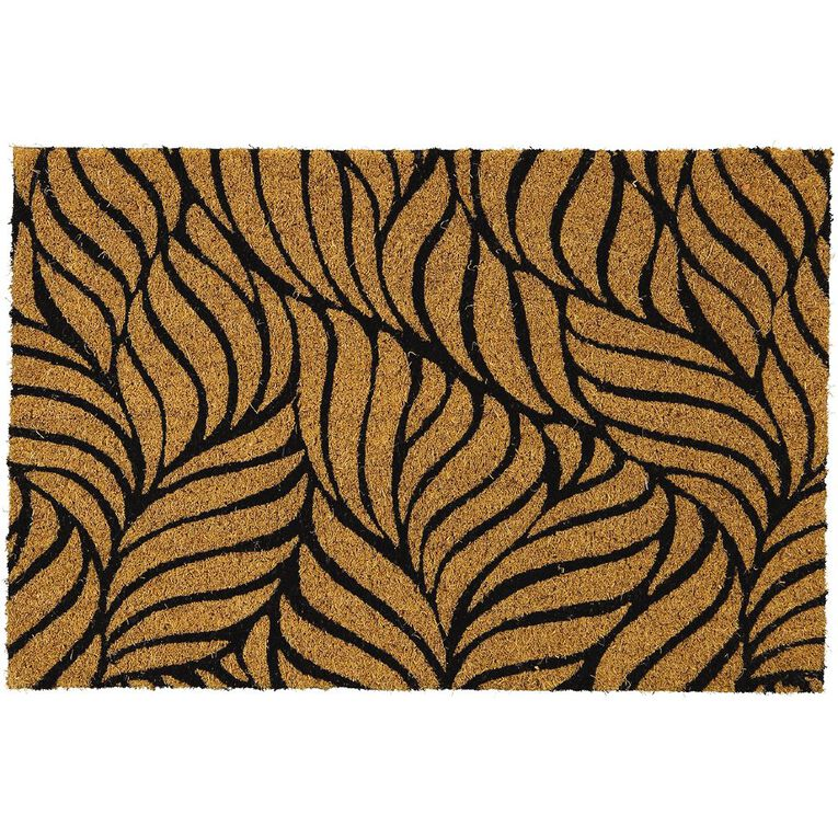 Living & Co Coir Doormat Shell 40cm x 60cm, , hi-res