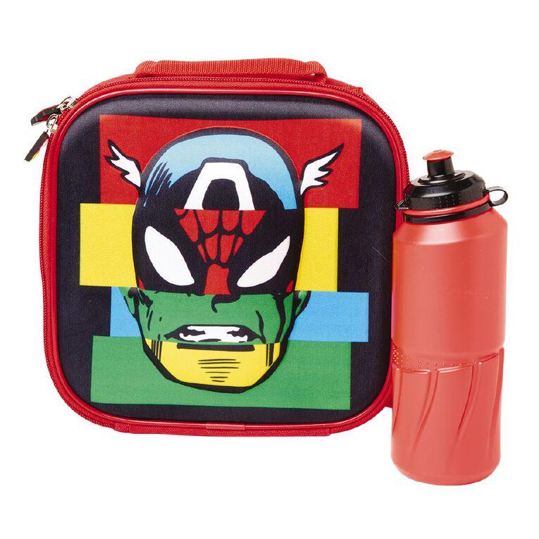 Marvel 3D Lunch Bag And Bottle Set, , hi-res