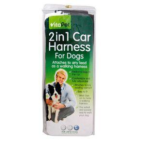 Vitapet Dog Car Harness Large