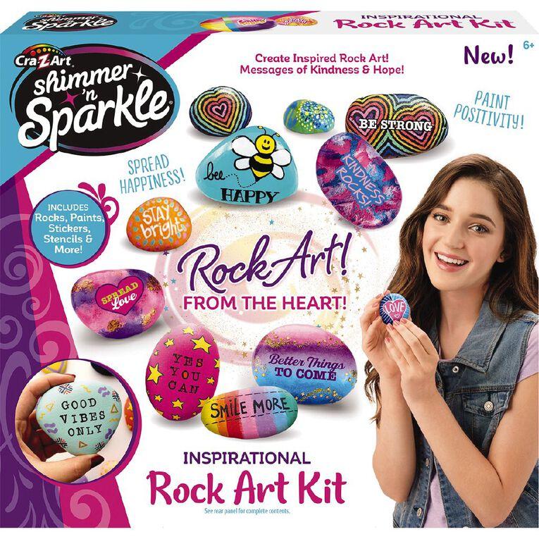 Shimmer n Sparkle Inspirational Rock Art, , hi-res