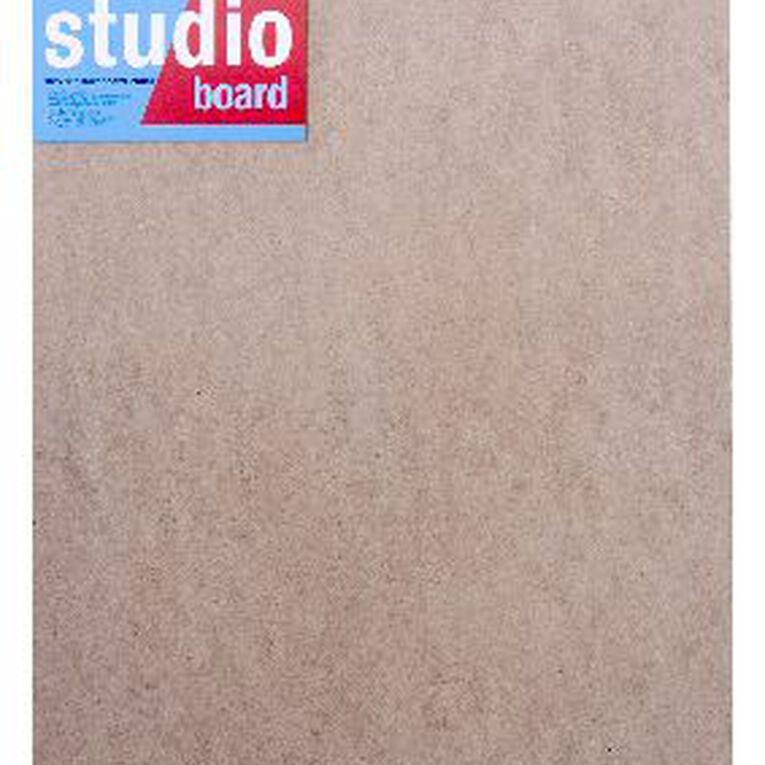 DAS Studio 3/4 Hardboard 16 x 20 Brown, , hi-res