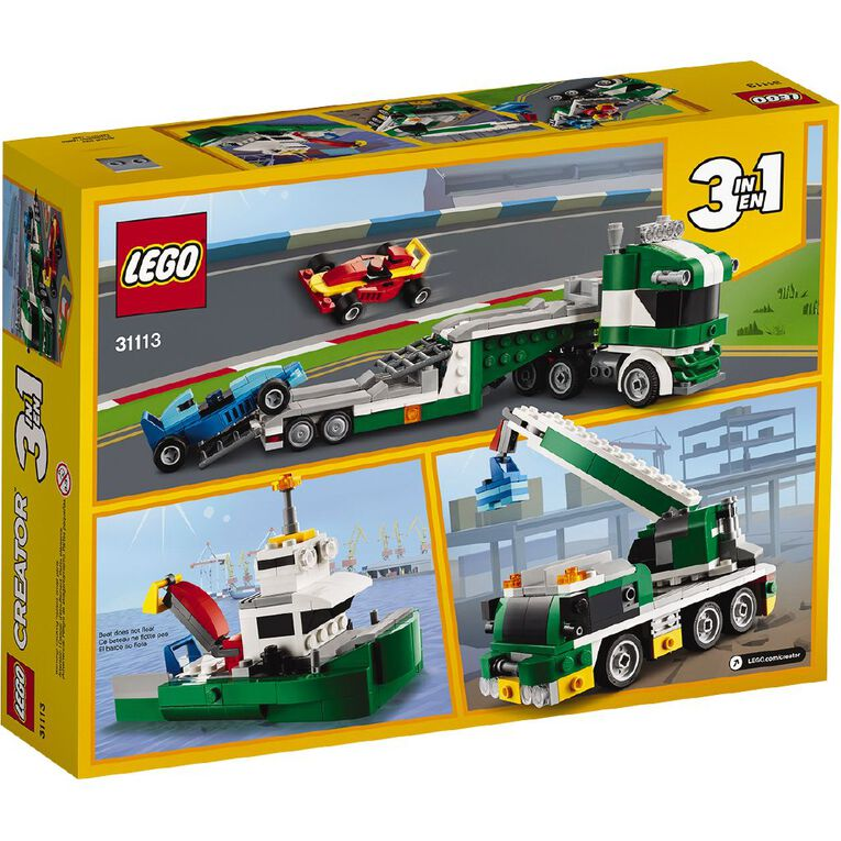 LEGO Creator Race Car Transporter 31113, , hi-res