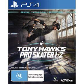 PS4 Tony Hawk Pro Skater 1 & 2 PS4