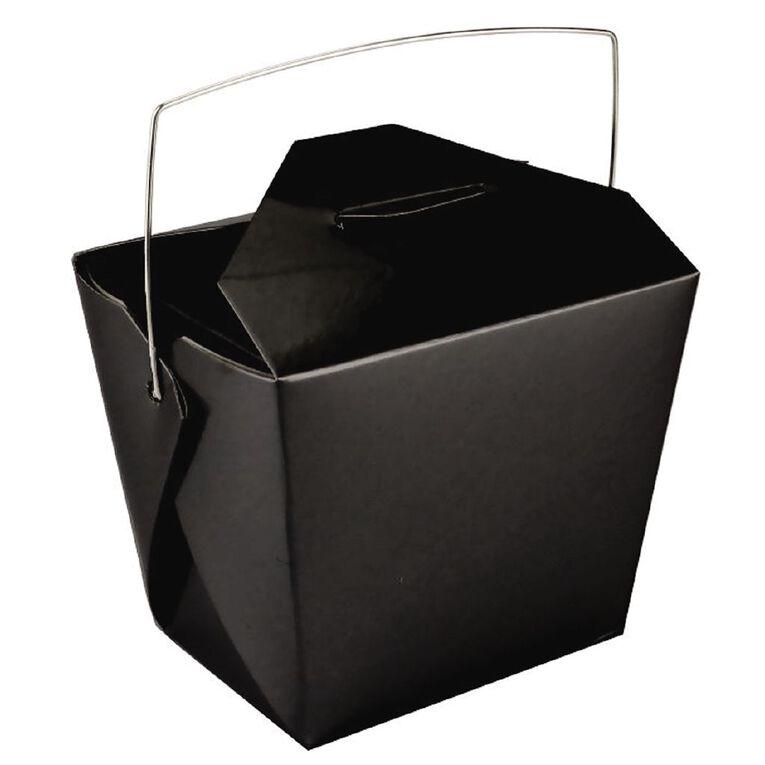 Artwrap Noodle Boxes 4 Pack Black, , hi-res