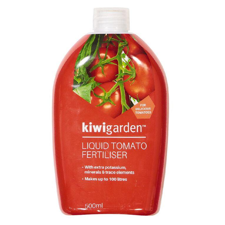 Kiwi Garden Liquid Tomato Fertiliser 500ml, , hi-res