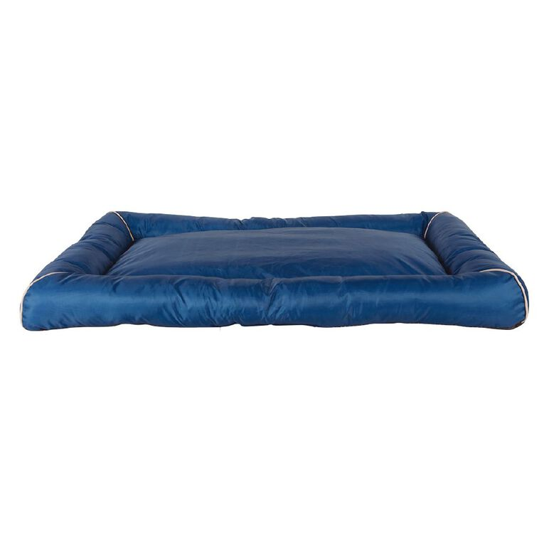 Petzone Pillow Bed Blue Large with Recycled Content, , hi-res