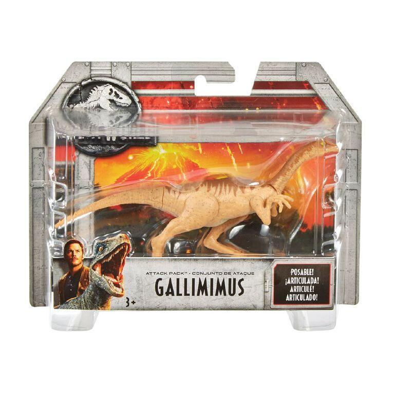 Jurassic World Basic Dinosaur Attack Pack Assorted, , hi-res