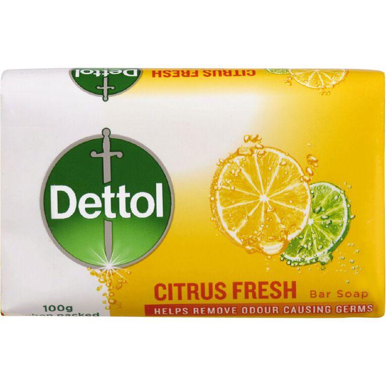 Dettol Bar Soap CItrus Fresh 3 Pack, , hi-res