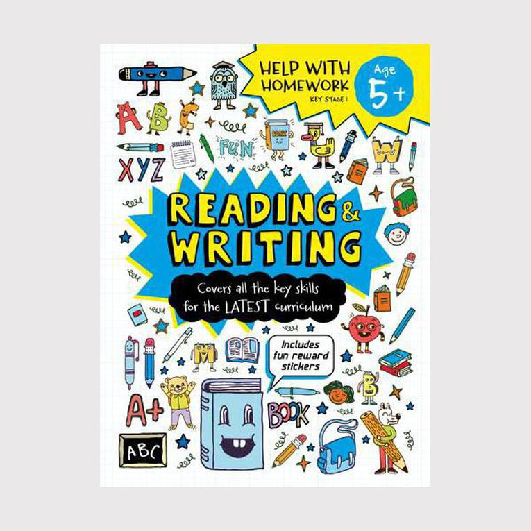 Help with Homework Expert 5+ Reading and Writing, , hi-res