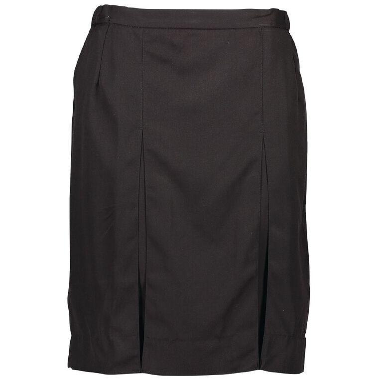 Schooltex Adults' Lined Skirt, Black, hi-res