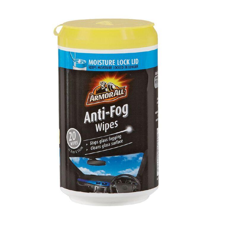 Armor All Anti Fog Wipes 20 Pack, , hi-res