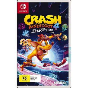 Nintendo Switch Crash Bandicoot 4
