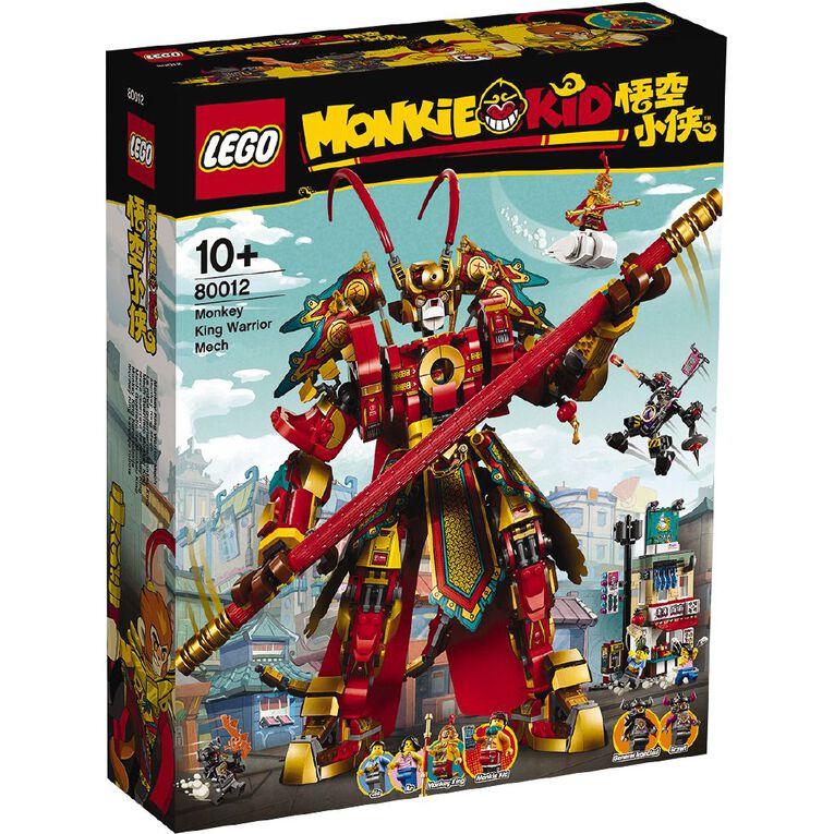 LEGO Monkie Kid Monkey King Warrior Mech 80012, , hi-res