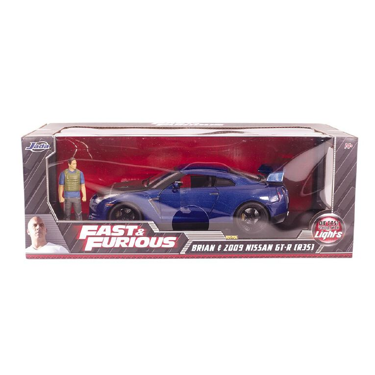 JADA Metals 1:18 Fast And Furious Diecast with Figure Assorted, , hi-res
