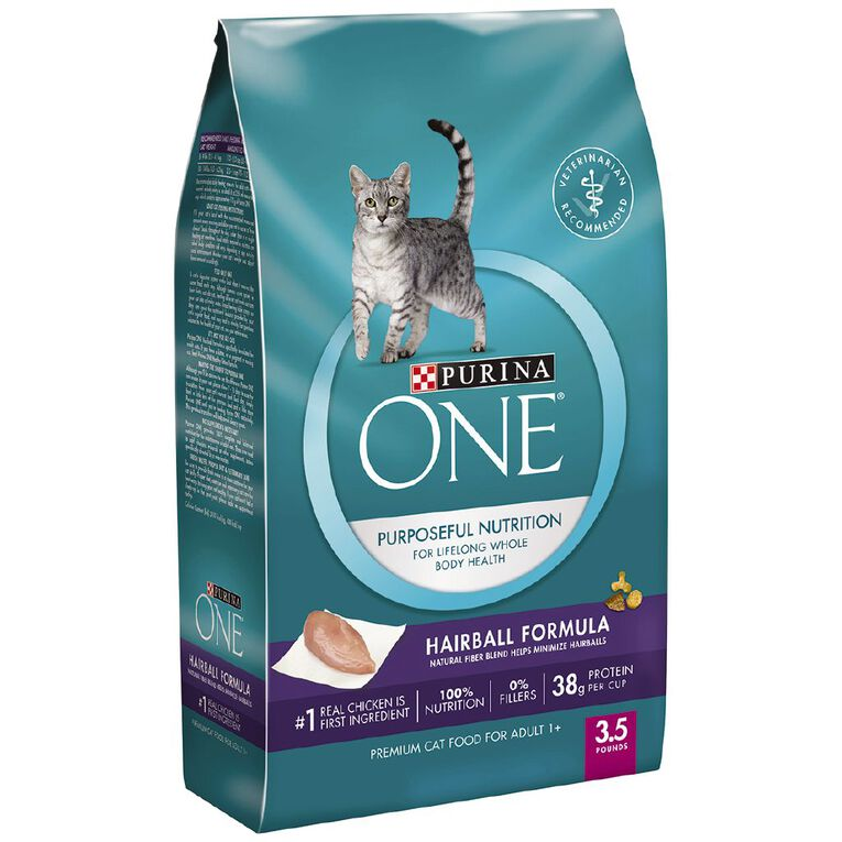 Purina ONE Cat Special Care Hairball 1.59kg, , hi-res