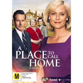 A Place To Call Home Season 6 DVD 3Disc