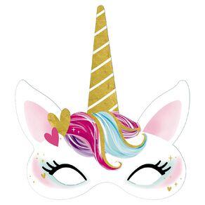 Artwrap Unicorn Party Masks 8 Pack
