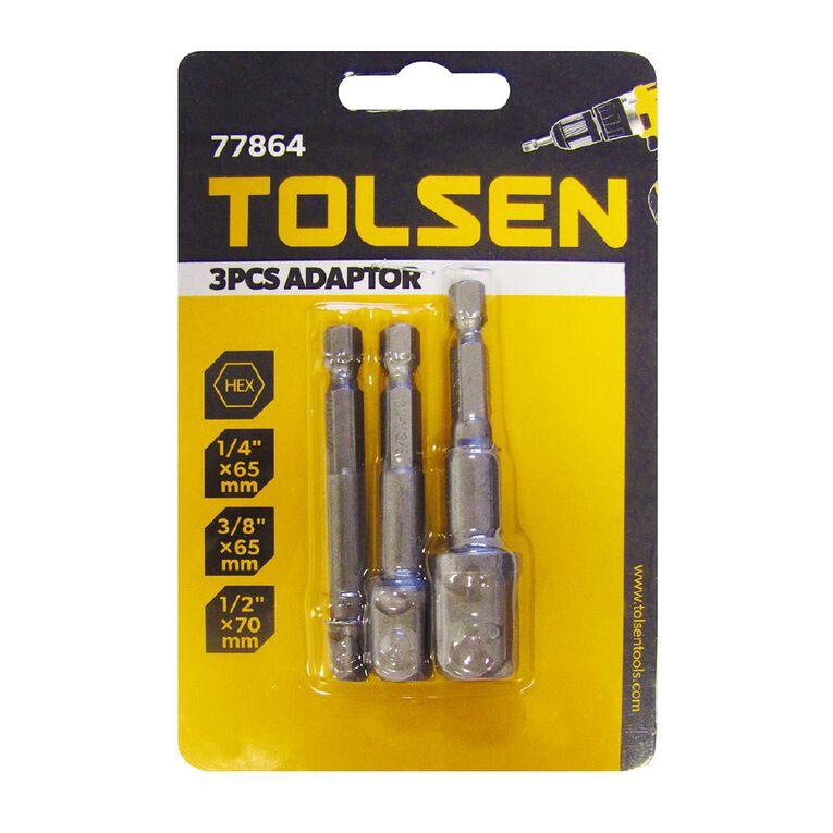 Tolsen Adapter Set 3 Pack, , hi-res