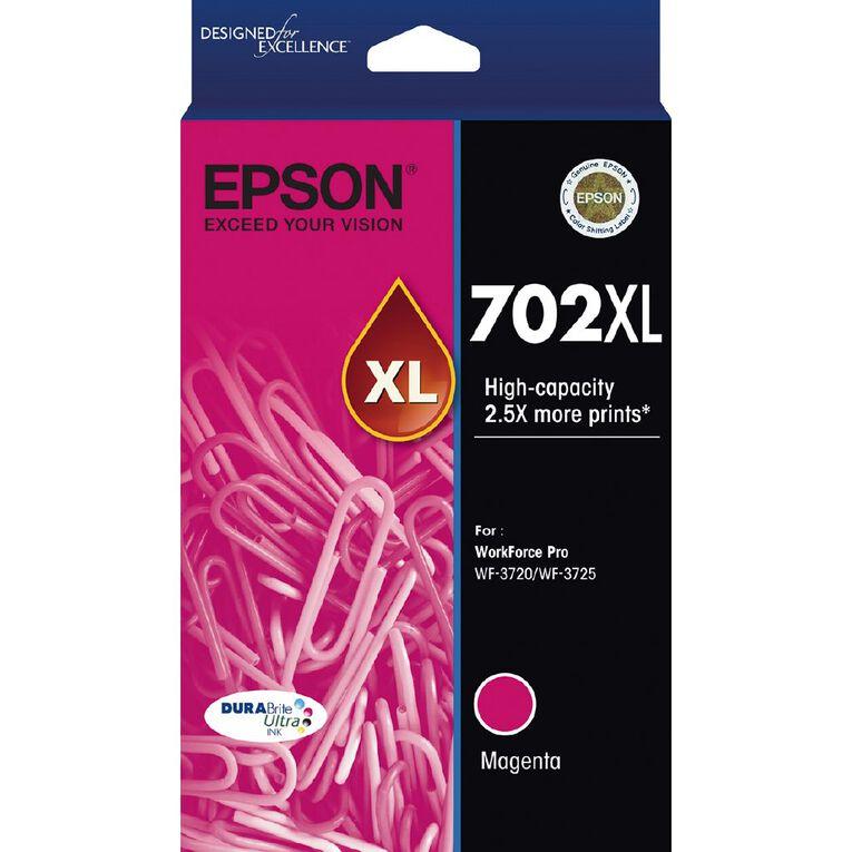 Epson Ink 702XL Magenta (950 Pages), , hi-res
