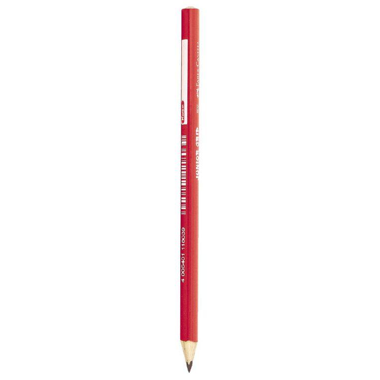 Faber-Castell Pencil Junior Grip 2B Loose Multi-Coloured, , hi-res
