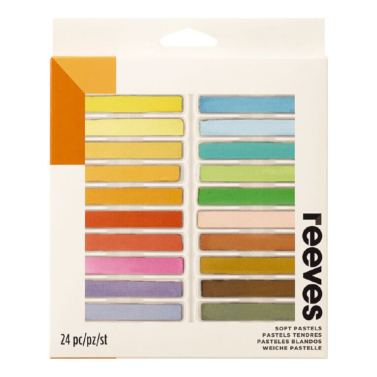 Reeves Soft Pastels 24 Pack, , hi-res