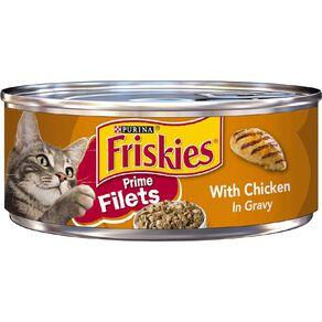 Friskies Prime Fillets Chicken in Gravy Wet Cat Food 156g