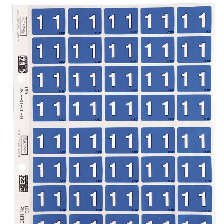 Filecorp Coloured Labels 1 Blue, , hi-res