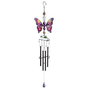 Kiwi Garden Butterfly Windchime 82cm Assorted