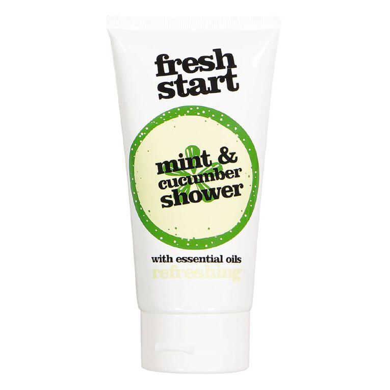 Fresh Start Shower Gel Mint & Cucumber 150ml, , hi-res