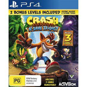 PS4 Crash Bandicoot n Sane Trilogy
