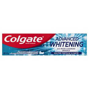 Colgate Advanced Whitening Toothpaste 110g