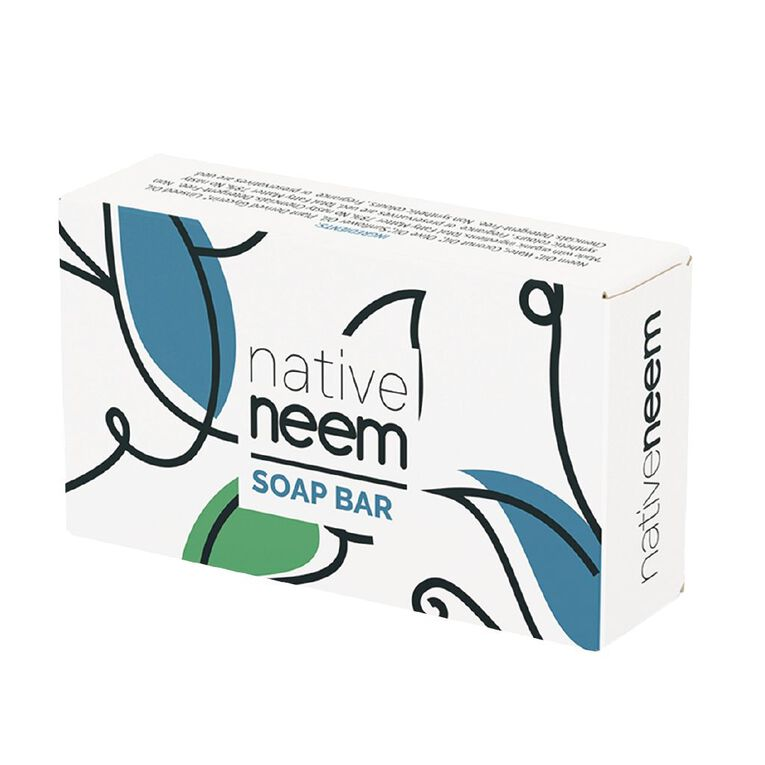 Native Neem Organic Neem Soap Bar, , hi-res