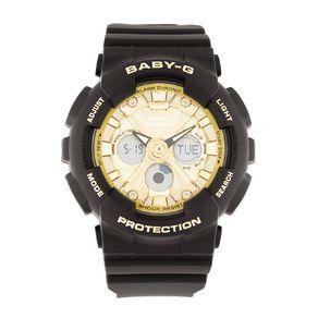 Casio Baby-G Ana-Digital Black & Gold Watch