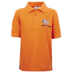 Schooltex Elgin School Short Sleeve Polo with Embroidery