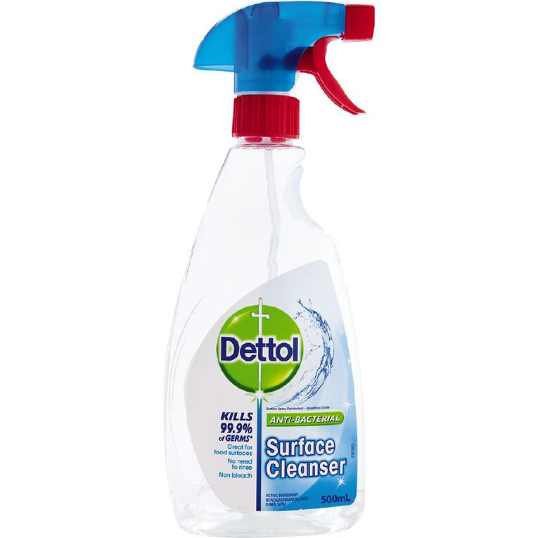Dettol Antibacterial Surface Cleanser Trigger Spray Disinfectant 500ml, , hi-res