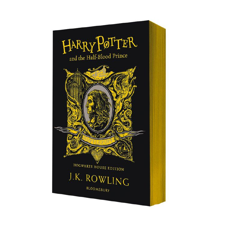 Harry Potter #6 The Half-Blood Prince - Hufflepuff Edition by JK Rowling, , hi-res image number null
