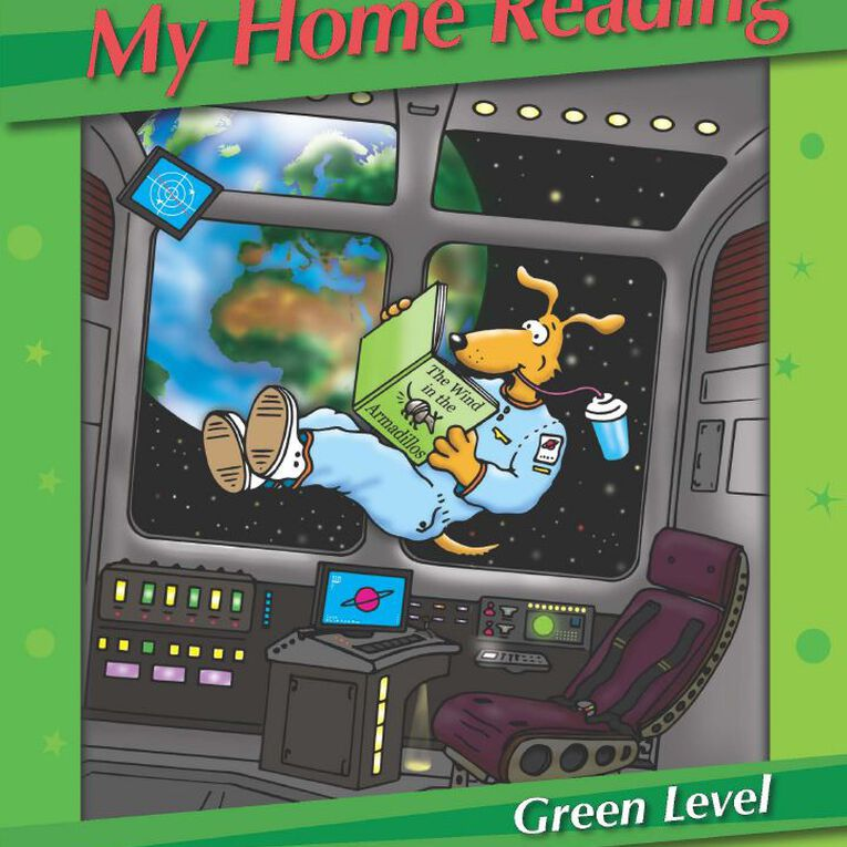 Kluwell My Home Reading Green Level Middle Green, , hi-res