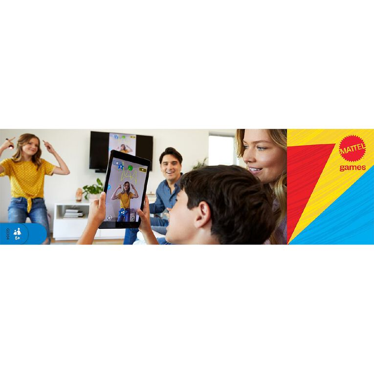 Pictionary Air Kids vs Adults Board Game, , hi-res
