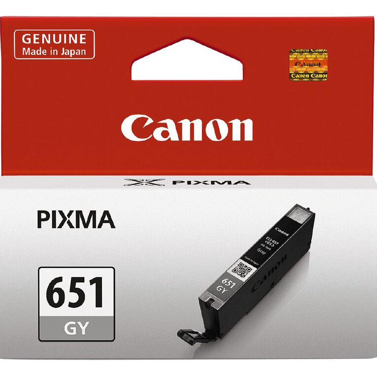 Canon Ink CLI651 Grey (330 Pages), , hi-res