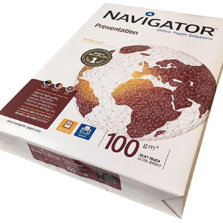 Navigator Presentation Paper 100gsm 500 Sheets A3, , hi-res