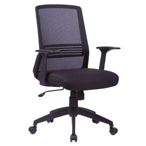 Workspace Ergo Meshback Chair Black